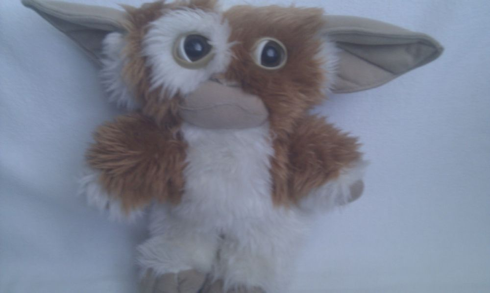 Adorable Big Vintage Gizmo Gremlin Warner Bros Plush Toy